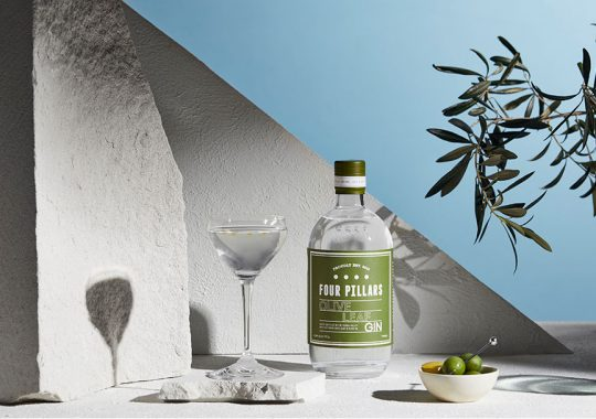 Picture of Four Pillars Olive Leaf gin