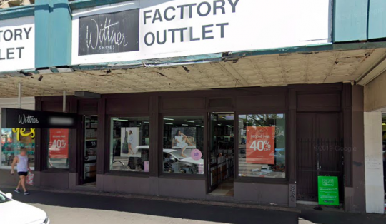 Picture of Wittner Outlet which sells discounted shoes and is one of the most popular spots for outlet shopping in Melbourne