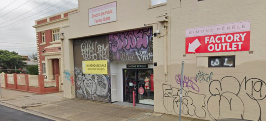 Simone Pérèle Outlet can be found in Brunswick and has quality outlet shopping in Melbourne, selling discounted bras and panties in Brunswick