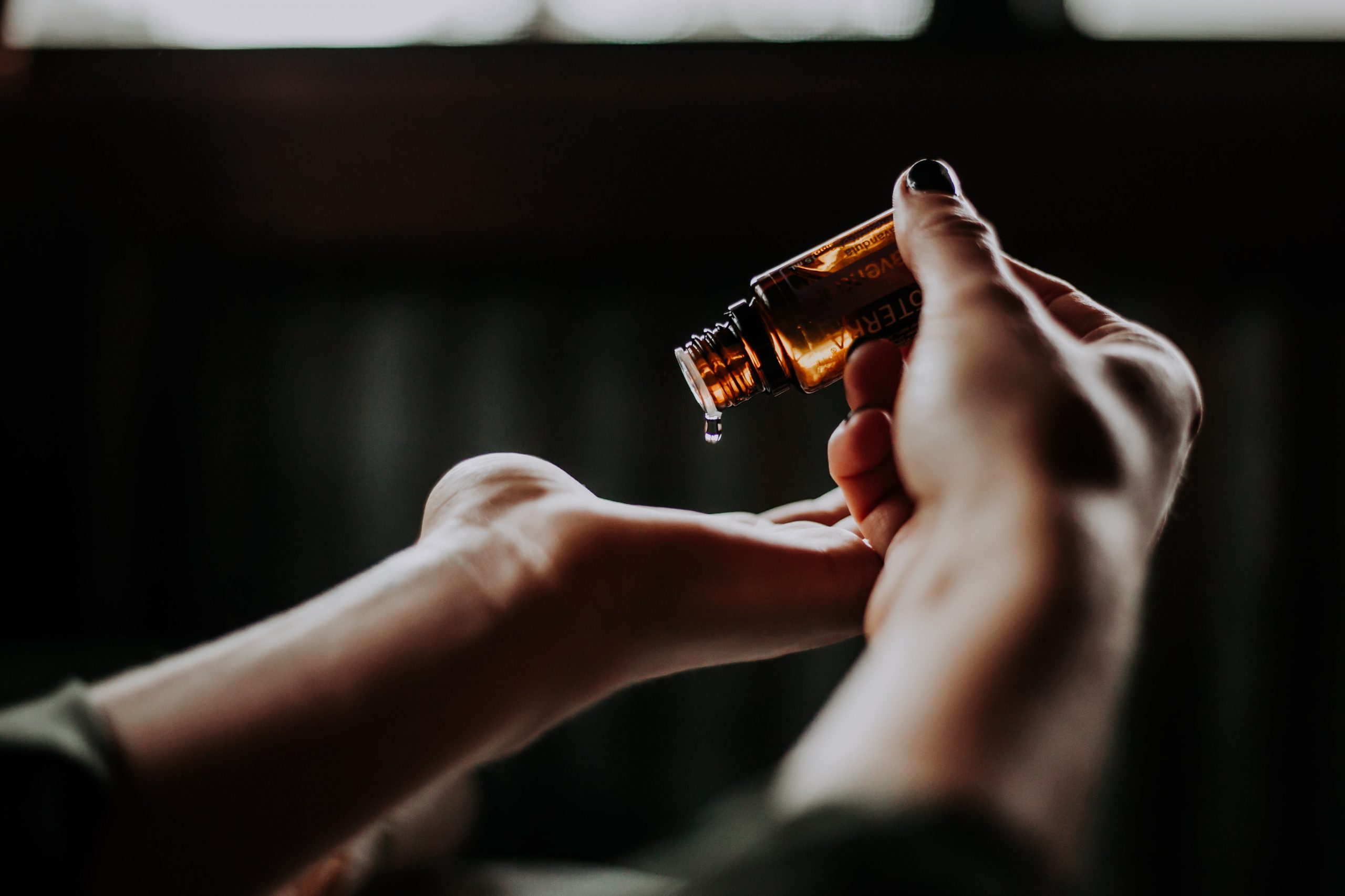 Essential oils used in a pregnancy massage in Melbourne